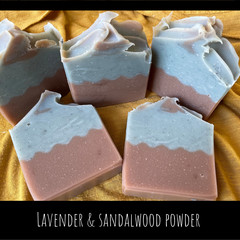 Hand Made Soap - lavender and sandalwood