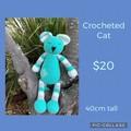 Crochet cat, stuffed toy, Amigurumi, baby, children, hand made