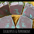 Hand Made Soap - Eucalyptus and Peppermint