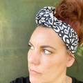 Black & White Women's Wire Headband/Headwrap perfect mothers day birthday gift