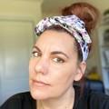 Skull and Roses  Boho Wire Headband, Wire Headscarf, Twist Headband