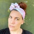 """The BIG """"C""""  Boho Wire Headband, Wire Headscarf, Twist Headband"""