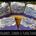 Hand Made Soap - Bergamot, Lemon & Ylang Ylang