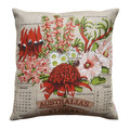 Cushion - Vintage Retro - Australia's Floral Emblems