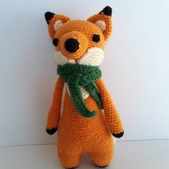 Fox, Crochet Fox, Amigurumi Fox, Baby, Gift, Toy, Nursery, Baby Shower