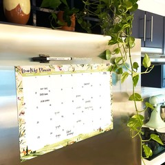 Fridge Planner/Magnetic Planner/Fridge Calendar/Monthly Whiteboard Planner/Organ