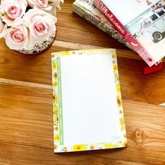 Magnet Planner - Sunny Days Meal Planner (18cm x 26cm)
