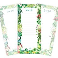 Notepad - Plant Lover (9.9cm x21cm)