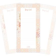 Notepad - Moroccan Boho (9.9cm x21cm)