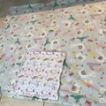 Quillow, Quilt Pillow Polar Fleece and Flannelette Beautiful soft snuggly