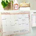 Fridge planner/Magnetic planner/fridge Calendar/MONTHLY whiteboard planner/Large