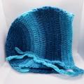 Crochet Hoodie hat, Beanie, Bonnet