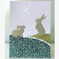 Bunnies card