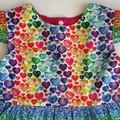 I Heart Rainbows dress