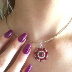 Swarovski Crystal Necklace: Lodestar