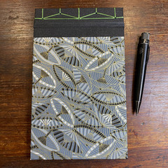 Japanese Stab Bound, Murasaki Lanterns, A5 Top-fold Sketchbook/Journal