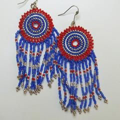 Boho Style Fringed Earrings