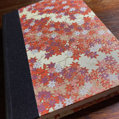 Handmade Autumn Leaf Premium Artists Sketchbook/Journal
