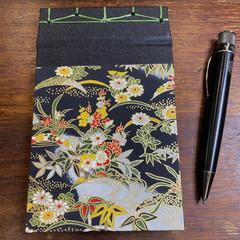 Japanese Stab Bound, Japanese Blossom, A6 Top-fold Sketchbook/Journal