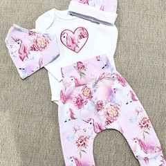 Baby Harem Pants Set