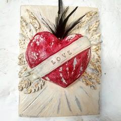 Wall Art -  Declare My Love Wall Tile