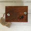 Rustic Mini Flower Press made from salvaged wood