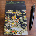 Japanese Stab Bound, Japanese Blossom, A6 Top-fold Sketchbook/Journal