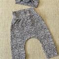 Baby/Toddler Harem Pants and Headband Set