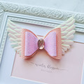 Soft Pink Angel bow