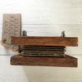 Tiny Rustic Flower Press, Seed Pod Decoration