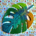 Fat Cat Originals Resin Monstera Leaf