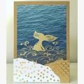 Whale tail card