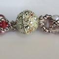 Swarovski Crystal Pearl Triad Necklace