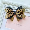 Leopard Mia bow