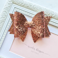 Rose Gold Mia bow