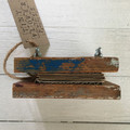 Rustic Tiny Flower Press made from reclaimed wood