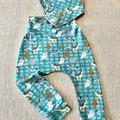 Baby/Toddler Harem Pants and Bandanna Bib Set