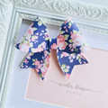 Floral Rose bow