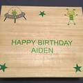 Personalised Children's Paulowina Wood Memory Box Keepsake Box For Little Boys H
