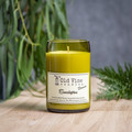 """Eucalyptus"" Soy Wax Candle In Recycled Wine Bottle"