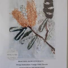 Stitch Kits by Petal & Sea- Banksia
