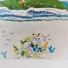 Stitch Kits by Petal & Sea- Tropical island