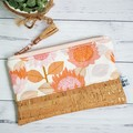 Zippered Pouch/Clutch