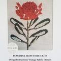 Stitch Kits by Petal & Sea- WARATAH