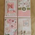 Handmade Greeting Cards  - Portrait - Blank inside