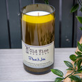 """""""Pinot Noir"""" Soy Wax Candle In Recycled Wine Bottle"""