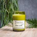 """""""Golden Wattle"""" Soy Wax Candle In Recycled Wine Bottle"""