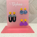 Personalised Earring Holder