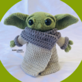 Grogu Baby Yoda from the Mandalorian Crochet Toy