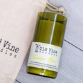 """""""Sauvignon Blanc"""" Soy Wax Candle In Recycled Wine Bottle"""